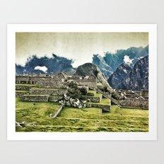 Machu Picchu, Peru Art Print