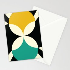 Radial Bloom Stationery Cards