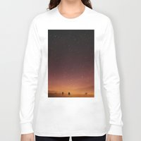 planet Long Sleeve T-shirts featuring Planet Walk by Stoian Hitrov - Sto