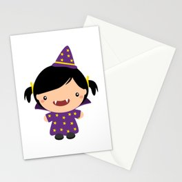 Cute Vampire Funny Halloween Stationery Cards