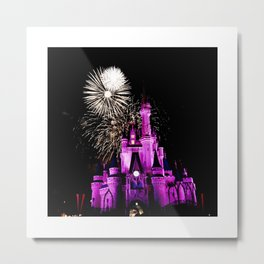 The Happiest Place on Earth  Metal Print