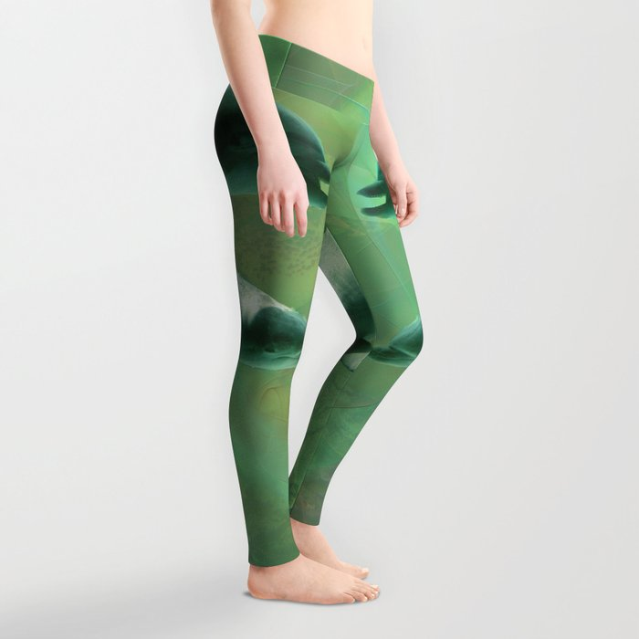Two Dolphins Leggings