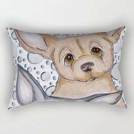 My Chi and His Ho Rectangular Pillow