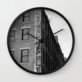 Rubber Company Wall Clock