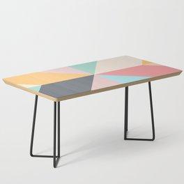 Geometric Pattern II Coffee Table