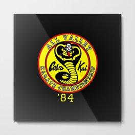 cobra kai karate clan Metal Print