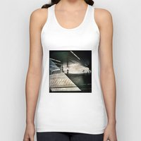 montreal Tank Tops featuring Montreal urbain by Jean-François Dupuis