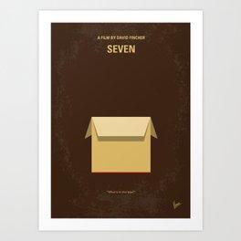 No233 My Seven mmp Art Print