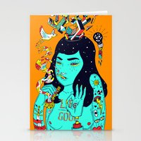 trip Stationery Cards featuring Trip by Jefowley