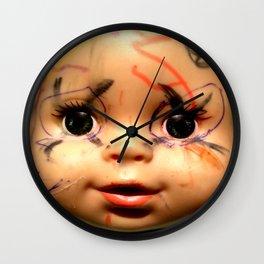 Punk Baby Wall Clock