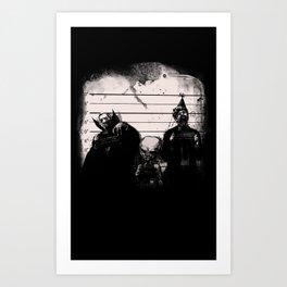Party crashers Art Print