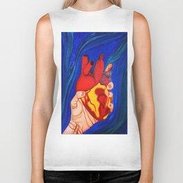 Heart in Hand Biker Tank