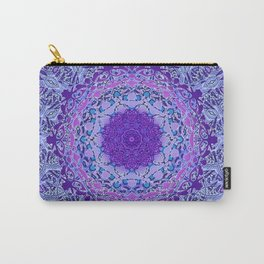 Wisteria Mandala Carry-All Pouch