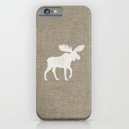 Moose Silhouette iPhone Case