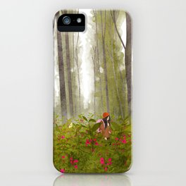 dream forest iPhone Case