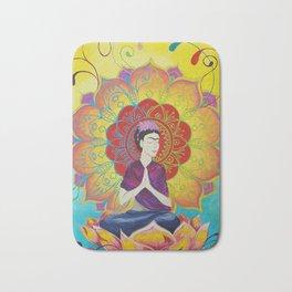 Frida Transcending Mandala and Lotus Blossom Bath Mat