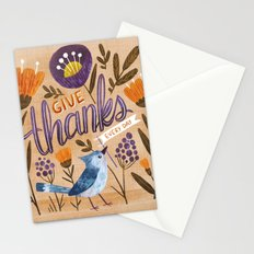 Give Thanks Every Day Stationery Cards