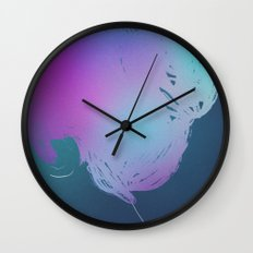 Colorful mind. Wall Clock