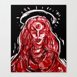zamolodchikova Canvas Print