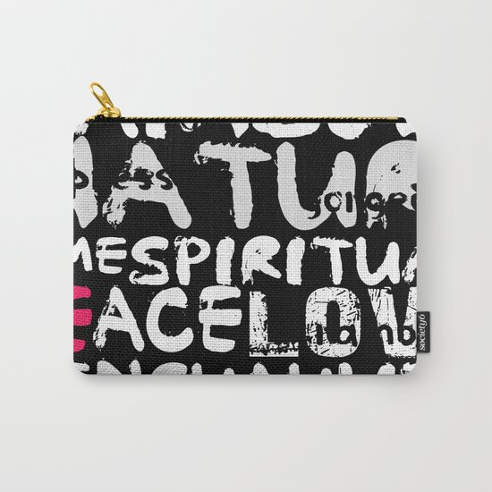 love words Carry-All Pouch