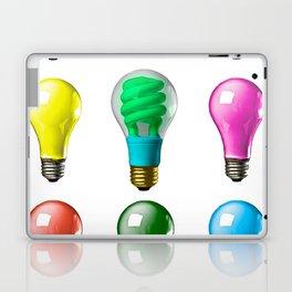 Lightbulbs Of A Differnt Color Laptop & iPad Skin
