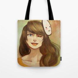 FemCry: Greens Tote Bag
