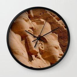 Abu Simbel Egypt Wall Clock
