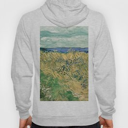 "Vincent Van Gogh ""Wheat Field With Cornflowers"" Hoody"