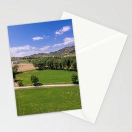 Green Fields of Abruzzo Stationery Cards