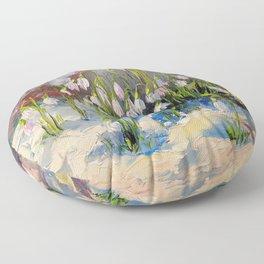 Snowdrops Floor Pillow