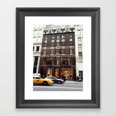 Fendi New York Framed Art Print