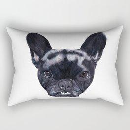 Frenchie Bella Rectangular Pillow