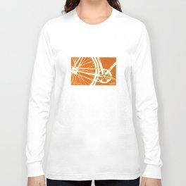 Orange Bike Long Sleeve T-shirt
