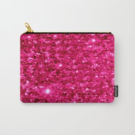 SparklE Hot Pink Carry-All Pouch