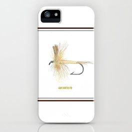 Light Cahill Dry Fly iPhone Case