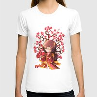 sakura T-shirts featuring Sakura by Asura Art