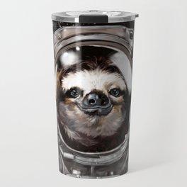 Astronaut Sloth Selfie Travel Mug