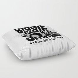 Biggie Smalls for Mayor Floor Pillow