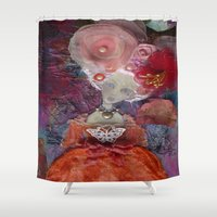 marie antoinette Shower Curtains featuring Marie Antoinette by inara77