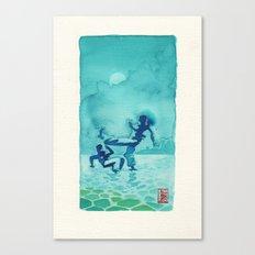 Capoeira 334 Canvas Print