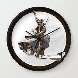 Media Rodeo: Big Brother is watching you Wall Clock