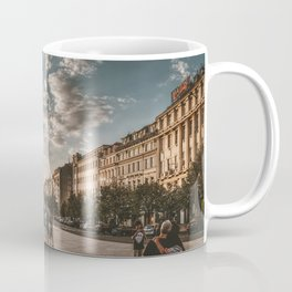 Wenceslas Square in Prague (Czech Republic) Coffee Mug