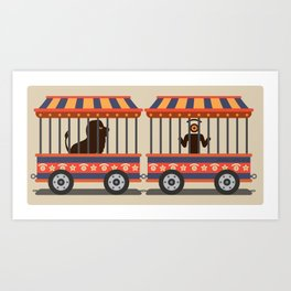 circus l.eye.on Art Print