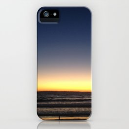 Sunset somewhere in Cape Town iPhone Case