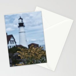 Lighthouse Wildflowers Stationery Cards