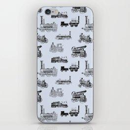 Antique Steam Engines // Steel Grey iPhone Skin