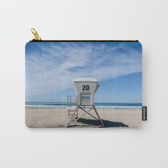California Beach Day II Carry-All Pouch