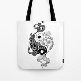 Yin Yang Tents Tote Bag
