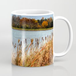 Autumn Swan Coffee Mug