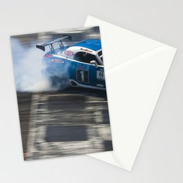 Pontiac Solstice Drifting at Irwindale Stationery Cards
